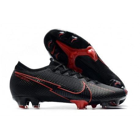 Chaussures Nike Mercurial Vapor XIII 360 Elite FG Noir Rouge