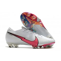 Chaussures Nike Mercurial Vapor XIII 360 Elite FG Blanc Rouge