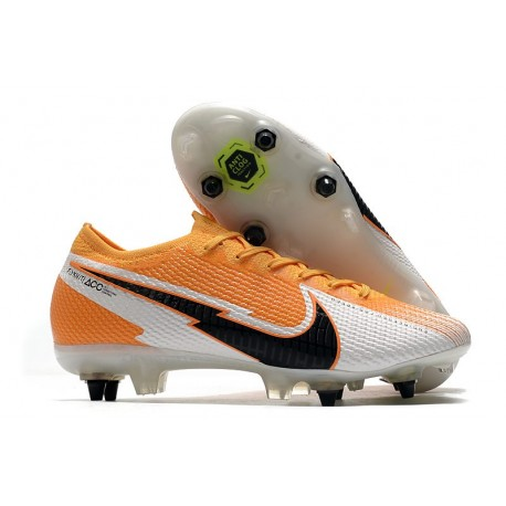 Nike Mercurial Vapor XIII Elite SG PRO AC Orange Laser Noir Blanc