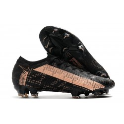 Nike Crampons 2020 Mercurial Vapor XIII Elite FG Noir Rose