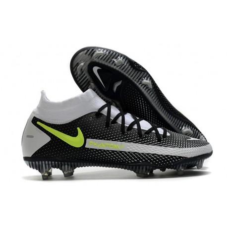 Nike Phantom GT Elite DF FG Neuf Crampons Noir Gris Vert