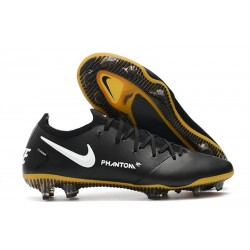 Nike Chaussure Phantom GT Elite Tech Craft FG Noir Or