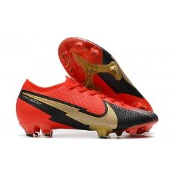 Nike Mercurial Vapor 13 Elite FG ACC Rojo Negro Oro