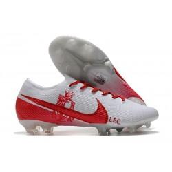 Nike Mercurial Vapor 13 Elite FG ACC LFC Blanc Rouge