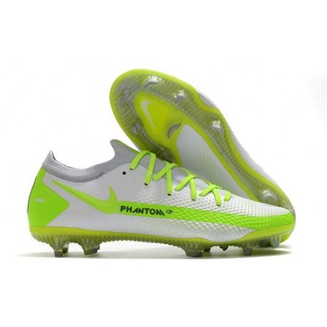 Nike Chaussure Phantom GT Elite FG Blanc Vert