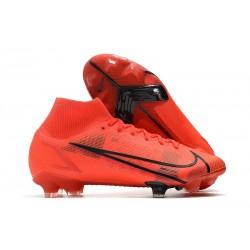 Nike Neuf Mercurial Superfly 8 Elite FG Rouge Noir