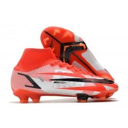 Nike Superfly 8 Spark Positivity CR7 Elite FG Rouge Piment Noir Fantôme