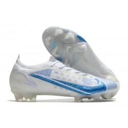 Nike Nouvelle Mercurial Vapor 14 Elite FG Blanc Bleu