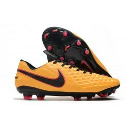 Nike Tiempo Legend 8 Elite FG Crampon Foot - Orange Noir